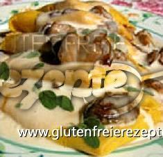 Buchweizen - Lasagnette Mit Steinpilzen