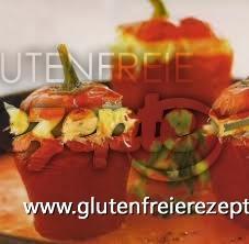 Glutenfreie Mit Kabeljausauce Gefüllte Pakrika