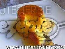 Glutenfreie Karamel Birnencreme