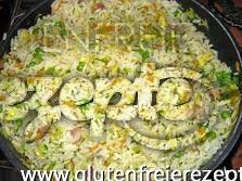 Glutenfreier Reis Auf Kantonesische Art