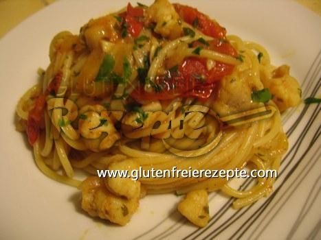 Spaghetti Mit Seeteufel